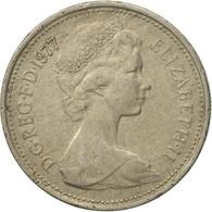Monnaie, Grande-Bretagne, Elizabeth II, 5 New Pence, 1977, TB+, Copper-nickel - 1971-… : Monnaies Décimales