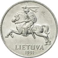 Monnaie, Lithuania, 2 Centai, 1991, TTB+, Aluminium, KM:86 - Lituanie