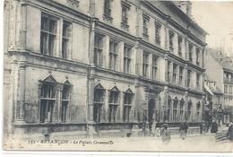 553. BESANCON . LE PALAIS GRANVELLE . CARTE ANIMEE AFFR AU VERSO LE 19-6-1911 . 2 SCANES - Besancon