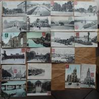 Saint-Denis : Lot De 41 CPA (1905 à 1916, ABE Et BE) Voir Les 42 Scans Et Le Descriptif - Saint Denis