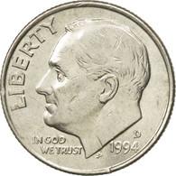 Monnaie, États-Unis, Roosevelt Dime, Dime, 1994, U.S. Mint, Denver, TTB+ - Bondsuitgaven