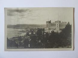 Norway/Oslo-Sjomandsskolen/Kristiania,used Postcard From 1924 - Norway