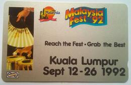 31MSBB Malaysia Fest 1992 $20 - Malaysia