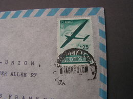 Argentina , Fine Flght Cover .. Frankfurt 1950 - Briefe U. Dokumente