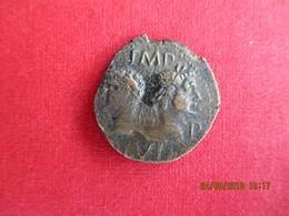 NEMAUSUS - NÎMES - AUGUSTE Et AGRIPPA, Dupondius, TTB+ - 1. Les Julio-Claudiens (-27 à 69)