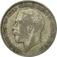 Monnaie, Grande-Bretagne, George V, 1/2 Crown, 1922, TB, Argent, KM:818.1a - 1902-1971 : Monnaies Post-Victoriennes