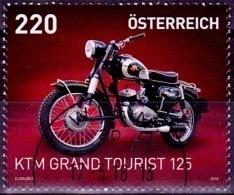Austria Österreich 2018  Motorräder (X) USED / O / GESTEMPELT - 1945-.... 2. Republik