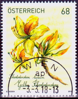 Austria Österreich 2018  Treuebonusmarke: Gelber Rhododendron USED / O / GESTEMPELT - 1945-.... 2. Republik
