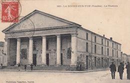Cp , 85 , LA ROCHE-sur-YON , Le Théâtre - La Roche Sur Yon
