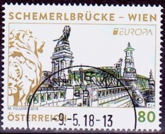 Austria Österreich 2018   Europa: Brücken, Semmeringbrücke  USED / O / GESTEMPELT - 1945-.... 2. Republik