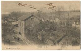 Fruges La Gare Edit Landouzy  Timbrée St Omer 1903 - Fruges