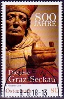 Austria Österreich 2018  800 Jahre Diözese Graz-Seckau.  USED / O / GESTEMPELT - 1945-.... 2. Republik