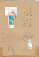 Cyprus ( Turkish ) Regsitr.commercial Cover 2000- Franked 2 Commemoratives- Reduced Price- SKRILL PAY ONLY - Unclassified
