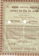 59-CHEMIN DE FER DU NORD. Oblig 1878 De 500 F. - Other