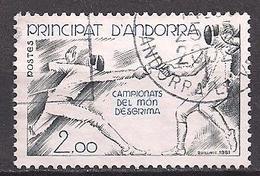 Andorra Franz.  (1981)  Mi.Nr.  317  Gest. / Used  (4bd05) - Oblitérés