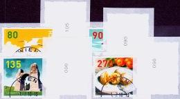 Austria Österreich 2018 Dispenser-Marken, 4 Werte Ersttagstempel, 3. Auflage Mit ZN MNH / ** / POSTFRISCH - 1945-.... 2. Republik
