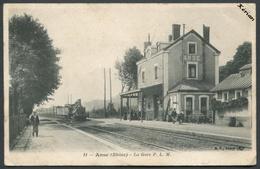 Anse (Rhône) 69 - La Gare P. L. M. - B. F. Paris N° 11 - Voir 2 Scans - Anse