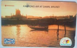 25MSAA Kampong Air At Dawn, Brunei $5 - Malaysia