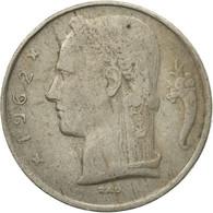 Monnaie, Belgique, 5 Francs, 5 Frank, 1962, TTB, Copper-nickel, KM:135.1 - 1951-1993: Baudouin I