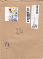 Vatican Commercial Regsitr.cover,2007,franked Complet Set 2 Stamps- Reduced Price- SKRILL PAYMENT ONLY - Vatican