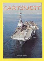 CPSM Marine Française - « Clem » Dans La Marine, 6ᵉ Porte-avions CLEMENCEAU - Guerre