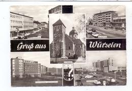 5102 WÜRSELEN, Kaiserstrasse, St. Sebastian Kirche, Parkhotel, Kreiskrankenhaus - Würselen