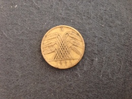 10 Pfennig 1925 A- Germany - [ 3] 1918-1933 : República De Weimar