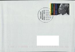 Deutschland SSt. Bonn '100. Geb. Nelson Mandela' / Germany Pmk. 'Nelson Mandela's 100th Ann.' 2018 - Autres