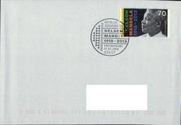 Deutschland SSt. Berlin '100. Geb. Nelson Mandela' / Germany Pmk. 'Nelson Mandela's 100th Ann.' 2018 - Autres