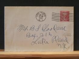 78/422    LETTRE USA - Winter 1932: Lake Placid