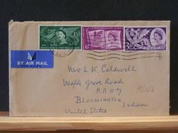 78/423   LETTRE G.B. TO   USA - 1952-.... (Elizabeth II)