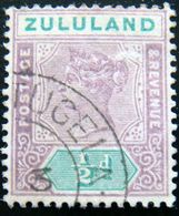 ZULULAND 1894 1/2d Queen Victoria Used - Zululand (1888-1902)