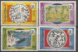 VA 1985-707-10 Youth Year , VANUATU 1 X 4v, MNH - Persönlichkeiten