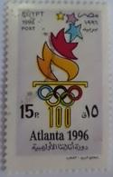 Egypt Stamp 1996 Olympic Games - Atlanta, USA  [USED] (Egypte) (Egitto) (Ägypten) (Egipto) - Égypte