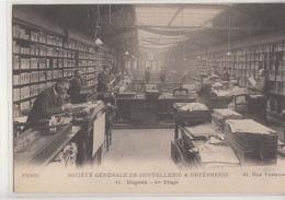 PARIS         SOCIETE GENERALE DE COUTELLERIE  ORFEVRERIE  . MAGASIN 31 RUE PASTOURELLE - Paris (03)