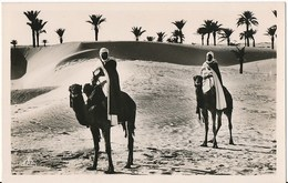 CPA. ALGÉRIE. BOU SAADA. Paysage Au Desert *** - Algeria