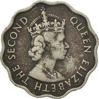 Monnaie, Mauritius, Elizabeth II, 10 Cents, 1957, TB+, Copper-nickel, KM:33 - Mauritius