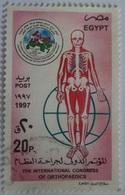 Egypt Stamp 1997 International Orthopaedics Congress, Cairo [USED] (Egypte) (Egitto) (Ägypten) (Egipto) - Égypte