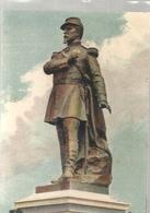 BELFORT . MONUMENT DES TROIS SIEGES . STATUE DU COLONEL DENFERT-ROCHEREAU . CARTE COLORISEE ECRITE LE 1er JUIN 1916 - Belfort – Siège De Belfort