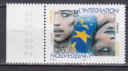 N° 3902 Europa L'Intégration Oeuvre Originale De Enki Bilal: Un  Timbre Neuf Impeccable Sans Charnière - Nuovi