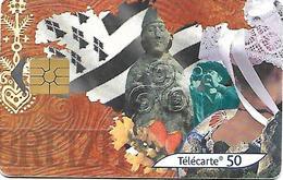 @+ Télécarte Bretagne - Drapeau - 50U - GEM2 - 07/01 - Ref : F1162 - 2001