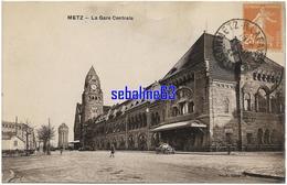 Metz - La Gare Centrale - 1927 - Metz