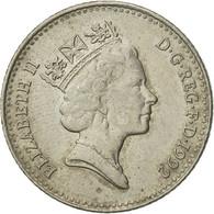 Monnaie, Grande-Bretagne, Elizabeth II, 10 Pence, 1992, TB, Copper-nickel - 1971-… : Monnaies Décimales