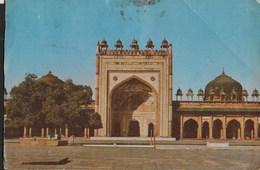 INDIA - JAMA MASJID, FATEHPUR SIKRI , AGRA - VIAGGIATA 1981 - India