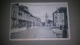 B6/:Grande Rue Et Chateau D'eau - Champagnole