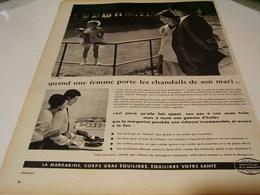 ANCIENNE PUBLICITE  CENTRE D ETUDE DE LA MARGARINE 1959 - Posters