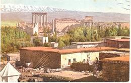 POSTAL      BALBEK - LIBANO  -L'ACOPROLE - Líbano