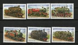 Albania 2001 Steam Locomotives.MNH - Afghanistan