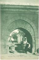 POSTAL      CASABLANCA  -MARRUECOS  - NOUVELLE VILLE ARABE-CADET ARCHIT  (NUEVA CIUDAD ARABE) - Casablanca