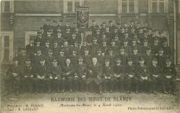 WW 71 MONTCEAU-LES-MINES 1920. Harmonie Des Mines De Blanzy - Other Municipalities